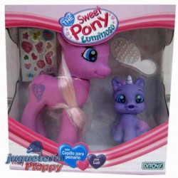 48290 SQUISHY UNICORNIO 4 COLORES